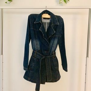Juicy Couture Jeans Denim / Jean Jacket Size Small